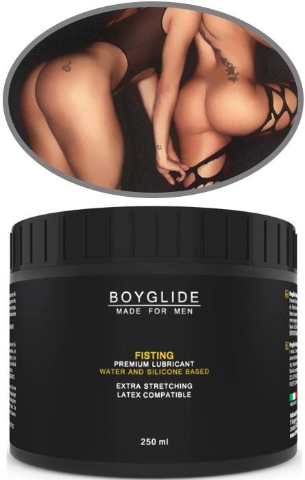 Lubricante Boyglide Premium Fisting Dilatação Anal 250ml RF45540